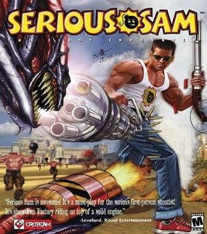 Serious Sam Box Art